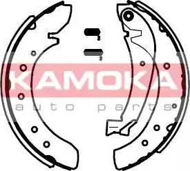 Kamoka JQ202013 - Jeu de freins, freins à tambour www.widencarpieces.com