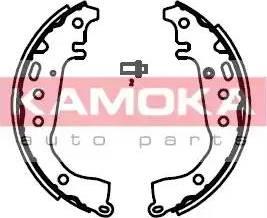 Kamoka JQ202025 - Jeu de freins, freins à tambour www.widencarpieces.com