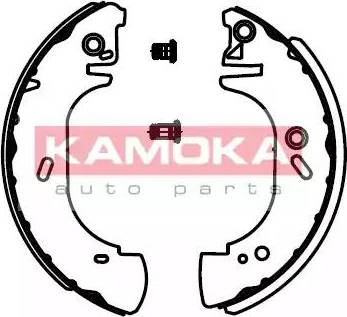 Kamoka JQ202027 - Jeu de freins, freins à tambour www.widencarpieces.com