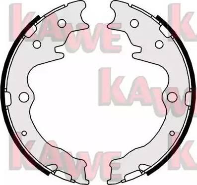 Kawe 09820 - Jeu de mâchoires de frein, frein de stationnement www.widencarpieces.com