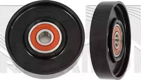 KM International FI25480 - Poulie-tendeur, courroie trapézoïdale à nervures www.widencarpieces.com