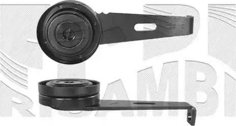 KM International FI2710 - Tendeur de courroie, courroie trapézoïdale à nervures www.widencarpieces.com