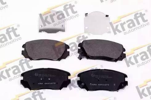 KRAFT AUTOMOTIVE 6001673 - Kit de plaquettes de frein, frein à disque www.widencarpieces.com