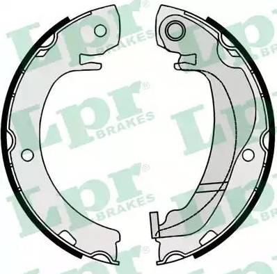 LPR 09920 - Jeu de mâchoires de frein, frein de stationnement www.widencarpieces.com