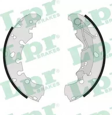 LPR 09090 - Jeu de freins, freins à tambour www.widencarpieces.com