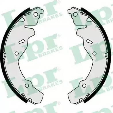 LPR 09180 - Jeu de freins, freins à tambour www.widencarpieces.com