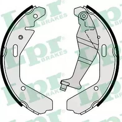 LPR 09130 - Jeu de freins, freins à tambour www.widencarpieces.com