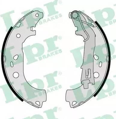 LPR 09290 - Jeu de freins, freins à tambour www.widencarpieces.com