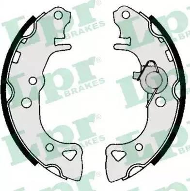 LPR 04940 - Jeu de freins, freins à tambour www.widencarpieces.com