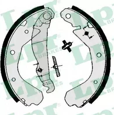LPR 04660 - Jeu de freins, freins à tambour www.widencarpieces.com