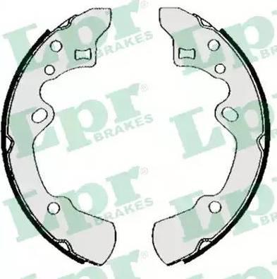 LPR 05620 - Jeu de freins, freins à tambour www.widencarpieces.com