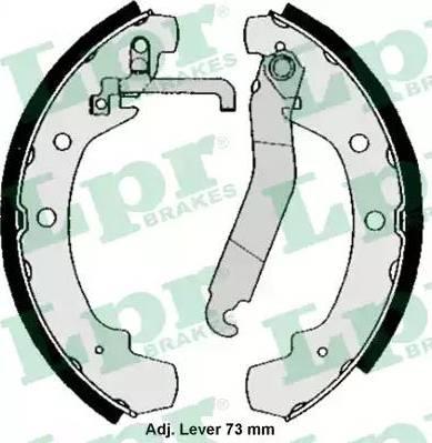 LPR 05000 - Jeu de freins, freins à tambour www.widencarpieces.com