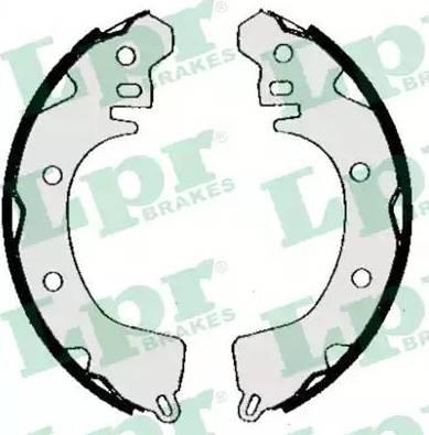 LPR 05260 - Jeu de freins, freins à tambour www.widencarpieces.com