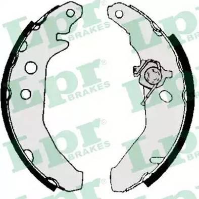 LPR 05740 - Jeu de freins, freins à tambour www.widencarpieces.com
