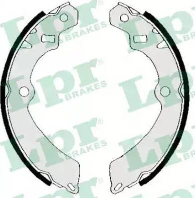 LPR 05710 - Jeu de freins, freins à tambour www.widencarpieces.com