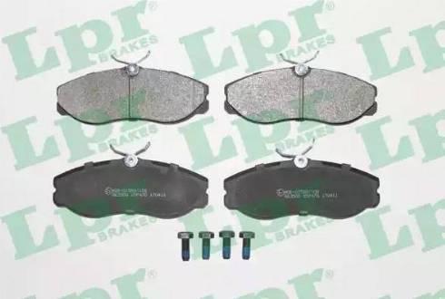 LPR 05P470 - Kit de plaquettes de frein, frein à disque www.widencarpieces.com