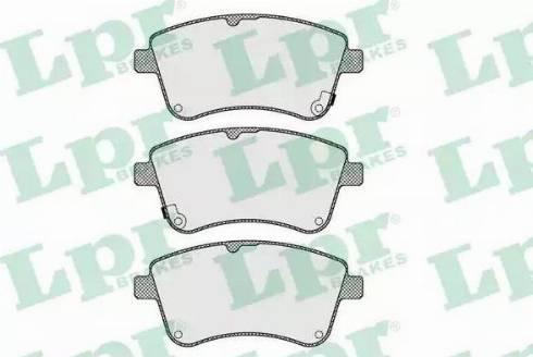 LPR 05P1623 - Kit de plaquettes de frein, frein à disque www.widencarpieces.com