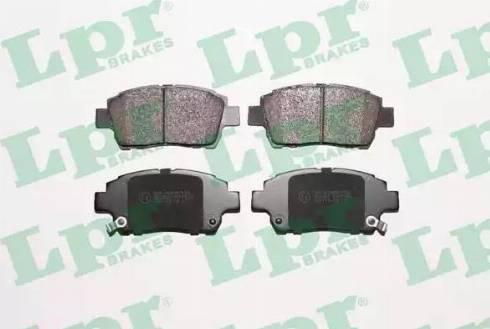 LPR 05P1062 - Kit de plaquettes de frein, frein à disque www.widencarpieces.com
