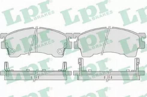 Ashika 50-03-399 - Kit de plaquettes de frein, frein à disque www.widencarpieces.com