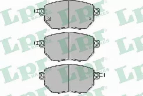 LPR 05P1342 - Kit de plaquettes de frein, frein à disque www.widencarpieces.com