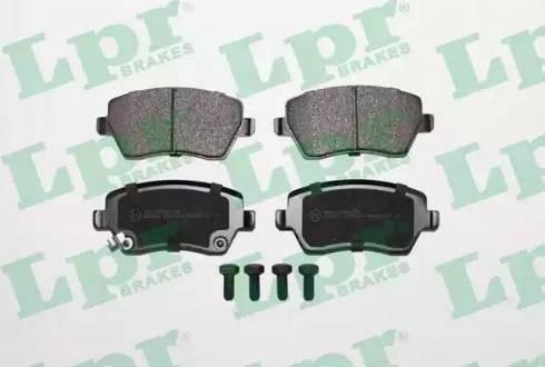 LPR 05P1229 - Kit de plaquettes de frein, frein à disque www.widencarpieces.com