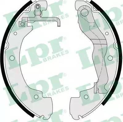 LPR 06910 - Jeu de freins, freins à tambour www.widencarpieces.com