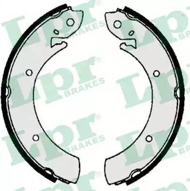 LPR 06070 - Jeu de freins, freins à tambour www.widencarpieces.com