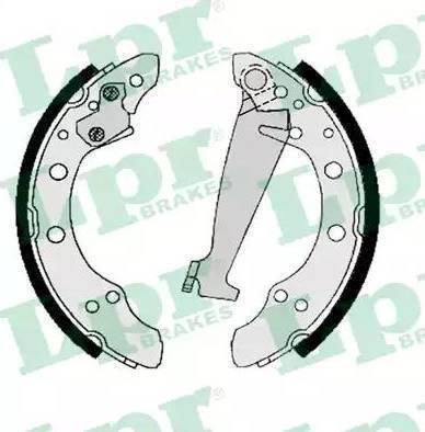 LPR 06830 - Jeu de freins, freins à tambour www.widencarpieces.com