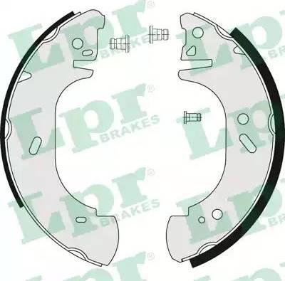 LPR 06750 - Jeu de freins, freins à tambour www.widencarpieces.com