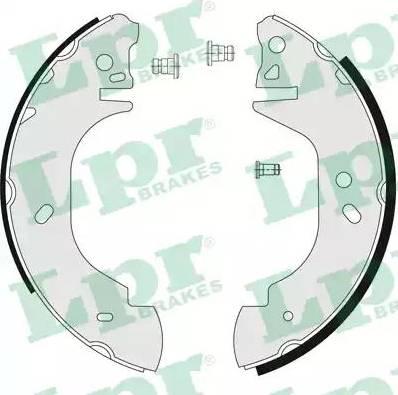 LPR 06760 - Jeu de freins, freins à tambour www.widencarpieces.com