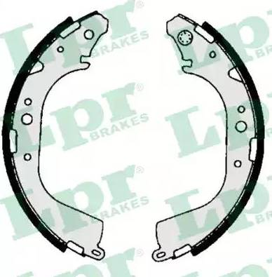 LPR 06710 - Jeu de freins, freins à tambour www.widencarpieces.com