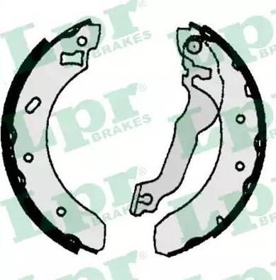 LPR 06770 - Jeu de freins, freins à tambour www.widencarpieces.com