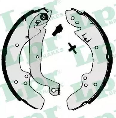 LPR 00930 - Jeu de freins, freins à tambour www.widencarpieces.com
