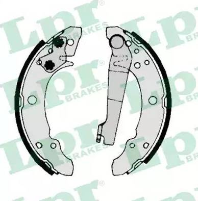 LPR 00140 - Jeu de freins, freins à tambour www.widencarpieces.com