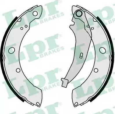 LPR 01016 - Jeu de freins, freins à tambour www.widencarpieces.com