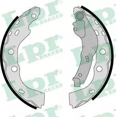 LPR 01071 - Jeu de freins, freins à tambour www.widencarpieces.com