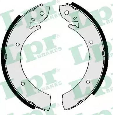 LPR 01150 - Jeu de freins, freins à tambour www.widencarpieces.com