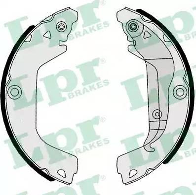 LPR 01112 - Jeu de freins, freins à tambour www.widencarpieces.com