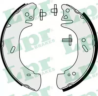 LPR 08440 - Jeu de freins, freins à tambour www.widencarpieces.com