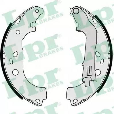 LPR 08590 - Jeu de freins, freins à tambour www.widencarpieces.com