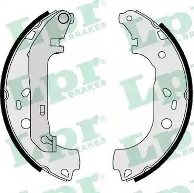 LPR 08550 - Jeu de freins, freins à tambour www.widencarpieces.com