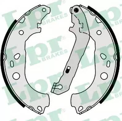 LPR 08600 - Jeu de freins, freins à tambour www.widencarpieces.com