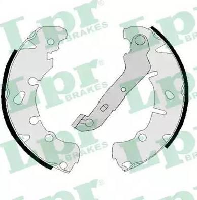 LPR 08170 - Jeu de freins, freins à tambour www.widencarpieces.com