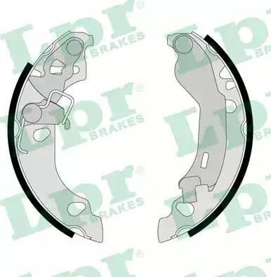 LPR 08230 - Jeu de freins, freins à tambour www.widencarpieces.com