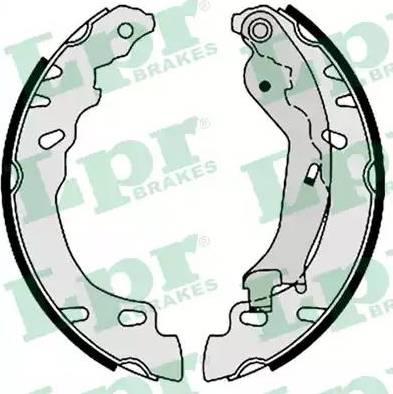 LPR 08780 - Jeu de freins, freins à tambour www.widencarpieces.com