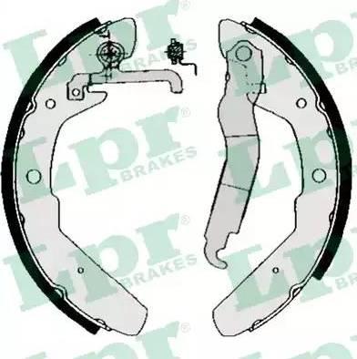 LPR 03970 - Jeu de freins, freins à tambour www.widencarpieces.com