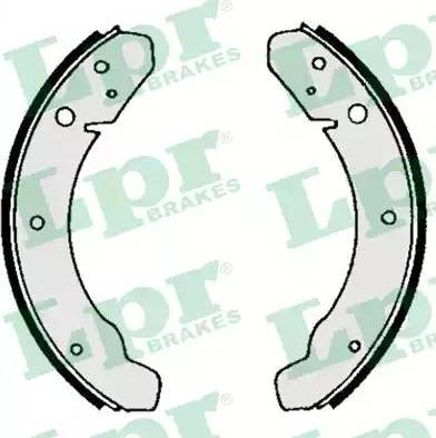 LPR 03890 - Jeu de freins, freins à tambour www.widencarpieces.com