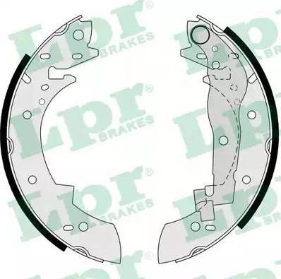 LPR 03330 - Jeu de freins, freins à tambour www.widencarpieces.com