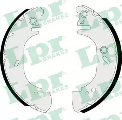 LPR 07400 - Jeu de freins, freins à tambour www.widencarpieces.com