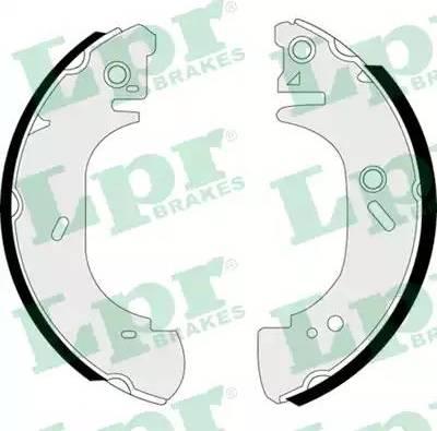 LPR 07410 - Jeu de freins, freins à tambour www.widencarpieces.com
